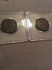1865 1864 Civil War Era Two Cent Piece US Coin