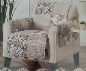 """Langdon Reversible Furniture Protector Armchair 75"""" x 68"""" new"""