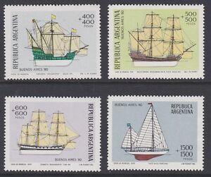ARGENTINA 1979 Buenos Aires stamp exhibition MINT set sg1646-1649 MNH