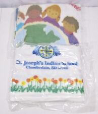 Lot of 2 Nos Sealed St. Joseph's Indian School South Dakota Fleece Blankets