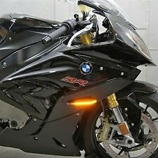 BMW S1000RR LED Front Turn Signals New Rage Cycles NRC LIGHT