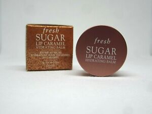 Fresh Sugar lip caramel hydrating balm travel mini 0.07 oz.