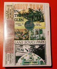 Rocky Glen Ghost Town Dorney Sans Souci Amusement Park DVD Movie Coin Moosic PA