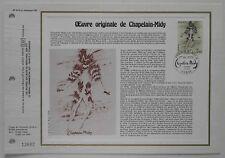 Document philatélique CEF 519 1er jour 1979 Chapelain Midy Peintre
