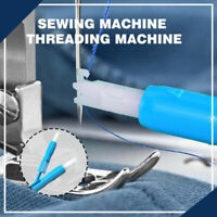Hot Sewing Machine Insertion Needle Threader Applicator Handle Thread Tool UK RR
