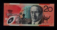 AUSTRALIA 20  DOLLARS  ( 2006 )  GL06    PICK  # 59d  UNC BANKNOTE.
