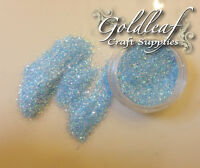 "Rockstar Toes / Nail Glitter 40g  Extra Fine .008"" / .015""/ Baby Blue Iridescent"