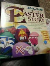 Egg decorating kit paas easter story kit new for  kids children free shipping