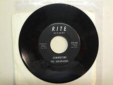 """DEBONAIRES:Summertime 2:18-Never Mistaken 2:29-U.S. 7"""" Rite Records 812R-0785"""