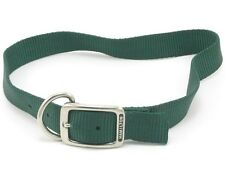"HAMILTON ST Nylon Dog Collar, 26"" x 1"", Dark Green"
