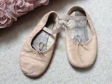 BALLETSCHUHE * Ballettschläppchen * Gr. 12,5 (30/31) * DANCIN' * Leder * rosa