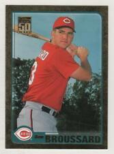 2001 Topps Traded Gold #154 Ben Broussard Cincinnati Reds BV$4 ####/2001