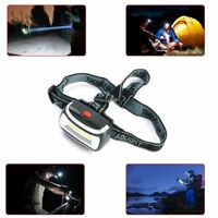 1 x Portable COB 90° Rotate 3 Modes AAA LED Headlight for Fishing Riding Camping