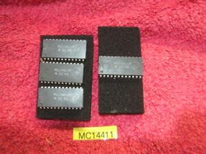 x4 Motorola MC14411P Clock Generator Frequency 1.843MHz