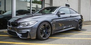 BMW M4 F82 coupe EIbach lowering springs & bimecc wheel spacers 12mm 15mm