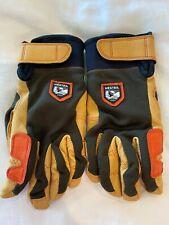 Hestra Unisex Skiing Ergo Grip Active Gloves - Dark Brown - Sz 8/S