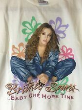 Rare Britney Spears 1999 Baby One More Time First Tour Concert T Shirt L