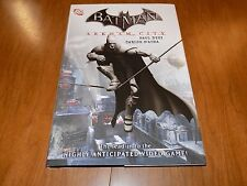 Batman ARKHAM CITY TPB - lead in to the video game - A MUST HAVE! hardback DINI