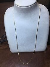 """24"""" Gold Plated Necklace Chain"""