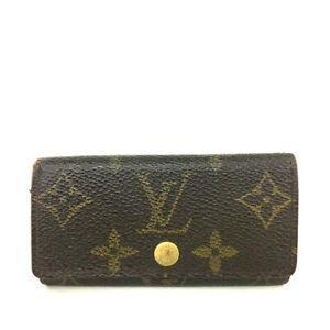 Louis Vuitton Monogram Multicles 4 Ring Key Case /F0937