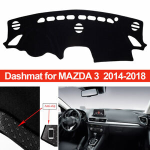 72016-00-25 DashMat Original Dashboard Cover Mazda RX-3 Premium Carpet, Red