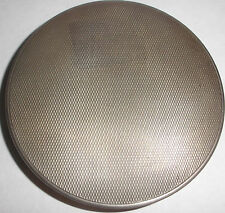 Nice vintage Art Deco Continental 800 Silver powder compact very clean unused