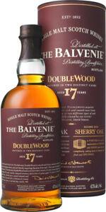 THE BALVENIE, Double Wood, Single Malt, Scotch Wiskey, 17 years, 43%, 0,7 l