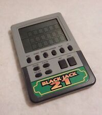 Radio Shack Electronic Handheld Travel Pocket Game Black Jack 21 No 60-2418