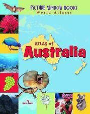 Atlas of Australia (Picture Window Books World Atlases)-ExLibrary