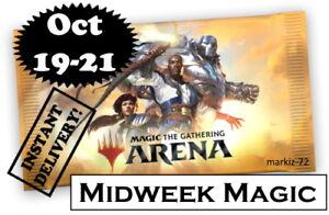 MTGA MTG Arena Midweek October 19-21 FNM Code Card ⚡Automatic⚡