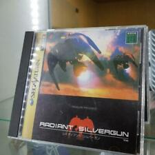 SS RADIANT SILVERGUN SEGA SATURN Very Good Boxed Manual Japan F/S TREASURE