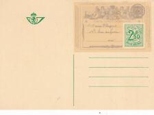 Belgium c1951 Lion 2f 50c Prepaid Postcard Unused VGC