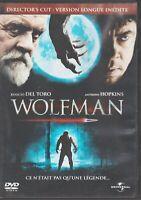 Wolfman Dvd Director's Cut Benicio Del Toro Anthony Hopkins