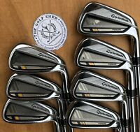 TaylorMade ROCKETBLADEZ TOUR Irons 4 - PW - KBS TOUR REGULAR FLEX SHAFTS