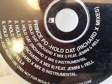 CD MAXI PRINCE PO Hold Dat ( RICHARD X Mixes ) LEX015CDP PROMO