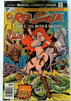 Red Sonja #1 Marvel 1977 FN+ Bronze Age 1st Printing Comic Book