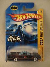 Hot Wheels  New Models -  2007-015 - '66 TV Series  Batmobile  NOC (318MH) K6147