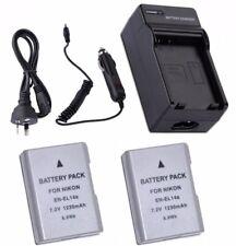 EN-EL14a Battery / Rapid Charger for Nikon D3400 D3300 D3200 D5500 D5300