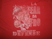 BEN WALLACE FEAR THE FRO T SHIRT Afro Pistons Bulls Captain Of Defense 2XL XXL