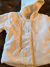 Confettis de Créateur Filles Blanc Velours Veste/manteau 1 ans bon état