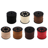 2.7mm Faux Suede Leather String Jewelry Making Bracelet Thread Cord Craft