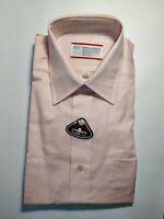 NWT Vintage Mens Dress Shirt Sears Perma Prest Collared 15 1/2 32/33 No Iron