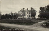 Madison MN Hospital c1910 Real Photo Postcard