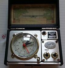 """Retro Style """"Spirit of St. Louis"""" Travel Suitcase Alarm Clock"""