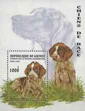 Timbre Chiens Guinée BF115 ** lot 15828