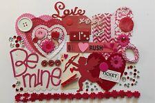 Valentine Love Themed REGULAR Ephemera Pack Goodie Bag Grab Bag Scrapbooking Pla