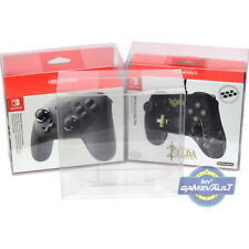 1 x BOX PROTECTOR for Nintendo Switch Pro Controller 0.5mm PLASTIC DISPLAY CASE