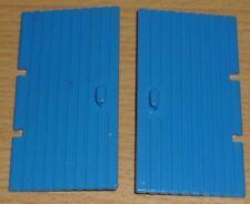 Lego 2 Tore 1 x 4 x 6 in blau, alt