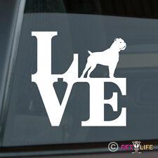 Love Cane Corso Park Sticker Die Cut Vinyl