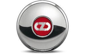 Cap Chrome-Plated/Red Alloy Wheels OZ 45° Anniversary M678 81210340 Origin